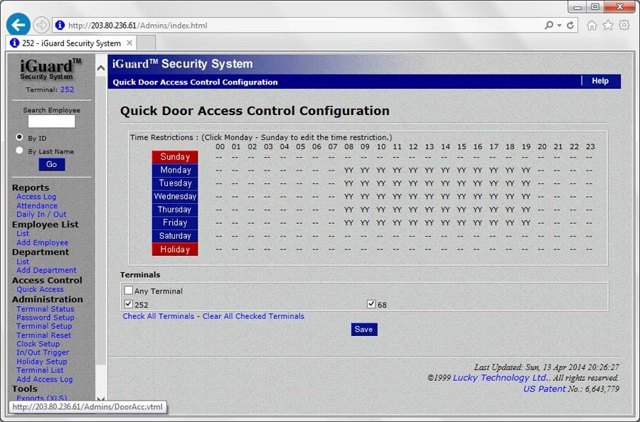 Access Control System | Biometric Fingerprint - iGuard
